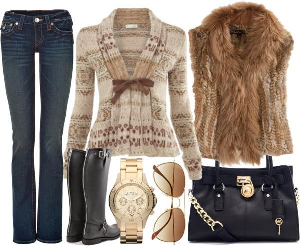 Beige Spring Outfit